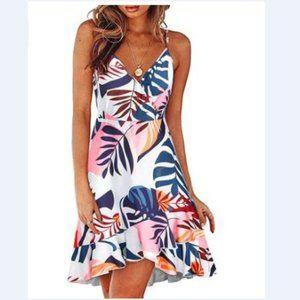 Summer Dress Tropical Floral
